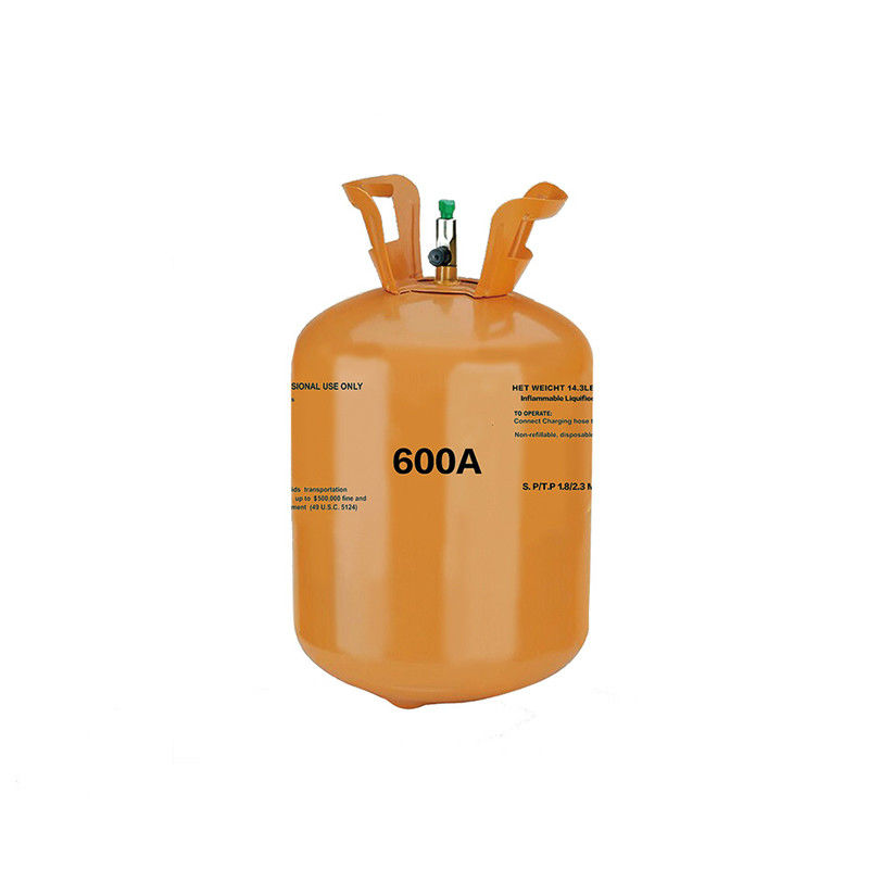 CAS 75-28-5 Hydrocarbon Gases Isobutane R600a Gas C4H10 for Refrigerant
