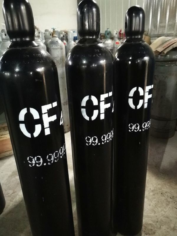 Carbon Tetrafluoride CF4 Gas , Ultra High Purity Gases Cas Number 75-73-0