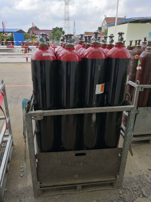 Cylinder Methane Tank Specialty Gases CH4 Methane 40 L Industrial Gas